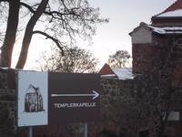 Zur Templerkapelle Mücheln