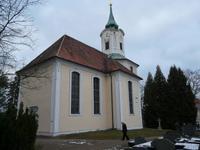 Kirche Schmannewitz nach Entwurf von George Bähr