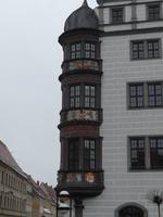 Erker am Torgauer Rathaus