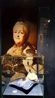 Krone ( Kopie ) von Katharina II. - im Kristallmuseum in Riedenburg