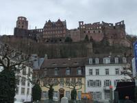 Blick zum Heidelberger Schloss