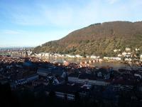 Rüdesheim - Heidelberg - Trier - Mosel Blick vom Schloss Heidelberg