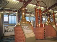 Whiskeydestillerie, Produktionsraum