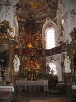 Andechs, Chor der Klosterkirche