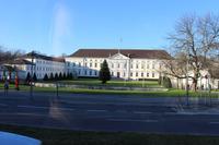 Blick auf das Schloss Bellevue