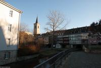 Erfurt - An der Krämerbrücke