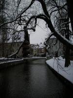 Verschneites Erfurt