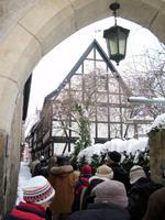 Eingang zum Augustinerkloster