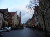 Rothenburg ob der Tauber - Herrngasse