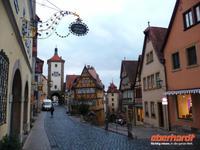 Rothenburg ob der Tauber - Plönlein mit Sieber- und Kobolzellertor