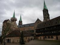 Bamberg -  Alte Hofhaltung und Dom