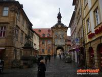 Bamberg -Obere BrÜcke mit Rathaus