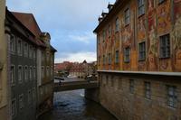 113 Bamberg, Westseite Altes Rathaus und Untere Brücke
