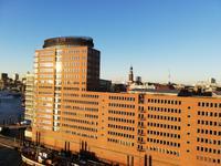 Blick vom Plaza der Elbphilharmonie Hamburg