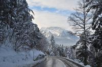 Roßfeldhöhenstraße im Berchtesgadener Land