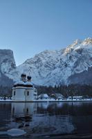 Die Watzmannostwand, Sankt Bartholomä, Königsee, Berchtesgadener Land