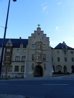 Eingangstor zum Kloster Schulpforta bei Naumburg