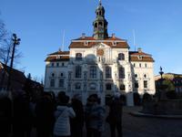 unsere Reisegruppe am Lüneburger Rathaus