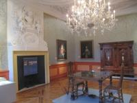 Innenraum des  Schlosses