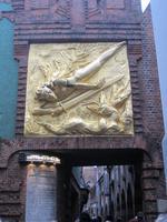 Eingang zur Böttcherstraße Bremen