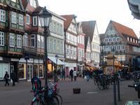 Belebte Alstadt von Celle