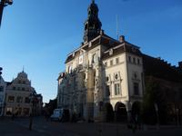 Frontansicht vom Rathaus Lüneburg