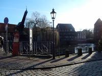 Am Stintmarkt in Lüneburg