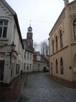 Leer, Blick zur Kirche