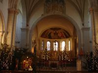 Koblenz - im Inneren der Kirche St.Kastor