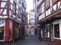Bernkastel-Kues - Fachwerkfassade