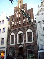 Rostocker Backsteinfassade
