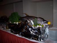 Silvesterbuffet-der groÁe Thunfisch