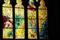 Metz, Kathedrale, Glasfenster von Marc Chagall