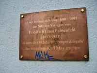 Freiburg i. Br., ehem. Verlagsgebäude von F. E. Fehsenfeld