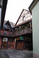 Innenhof eines Gebäudes in Dambach de Ville