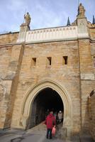 Haupttor an Burg Hohenzollern