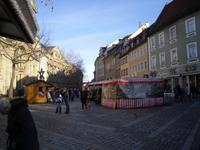 Fußgängerzone in Bamberg