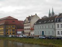 Bamberg mit Blick zum Dom