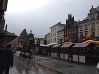 Mindener Altstadt mit Weihnachtsmarkt