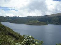 Cuicocha-Lagune