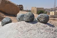 welcher Stein ist härter? Doleritkugeln