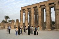 Führung im Luxor-Tempel