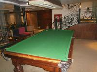 Auch Billiard kann man hier spielen