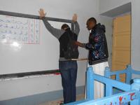 Ein strenger Lehrer