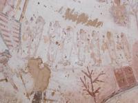 Originalmalerei in koptischer Kapelle