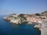 Spaziergang auf der Stadtmauer Dubrovniks