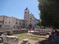 Römische Ausgrabungen und Nonnenklosters St. Marien