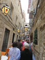 0218 Kreuzfahrt AIDAvita - Adria - Dubrovnik - Stadtrundgang - wunderschöne enge Gassen