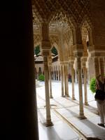 Granada Alhambra Harem Löwenhof