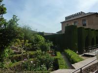 Eine Voraussicht darauf, was uns später in den Gärten der Alhambra erwarten würde, war dies hier